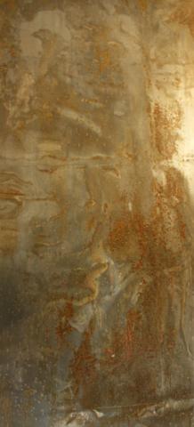 Arte Chimica dei Metalli - Acciaio rugginoso