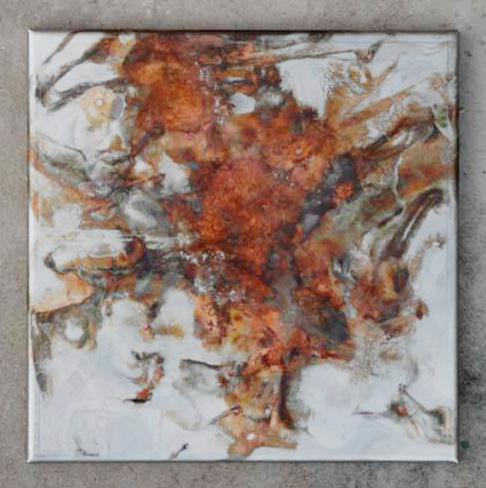 Arte Chimica dei Metalli - Acidatura Rosso Bauxite