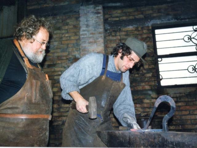 Haberman, lavorazione del ferro battuto